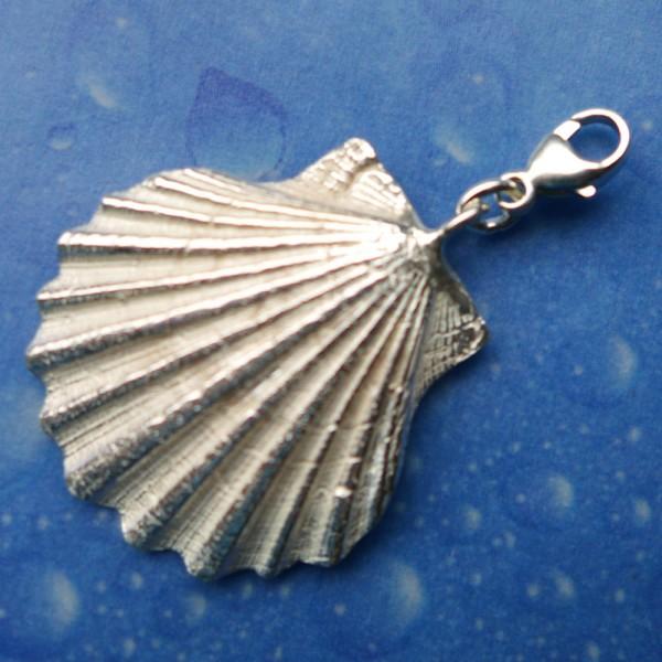 Geschenk für Pilger Anhänger Charms Silber
