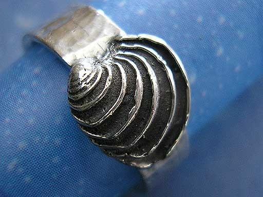 Stufige Venusmuschel small Ring