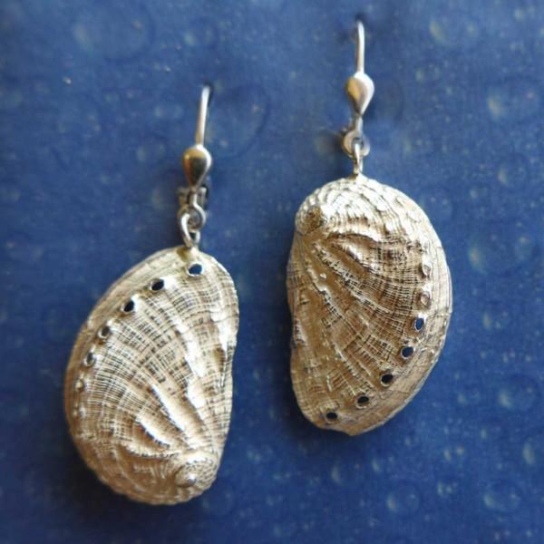 Ohrhänger Abalone Silber Meerohr