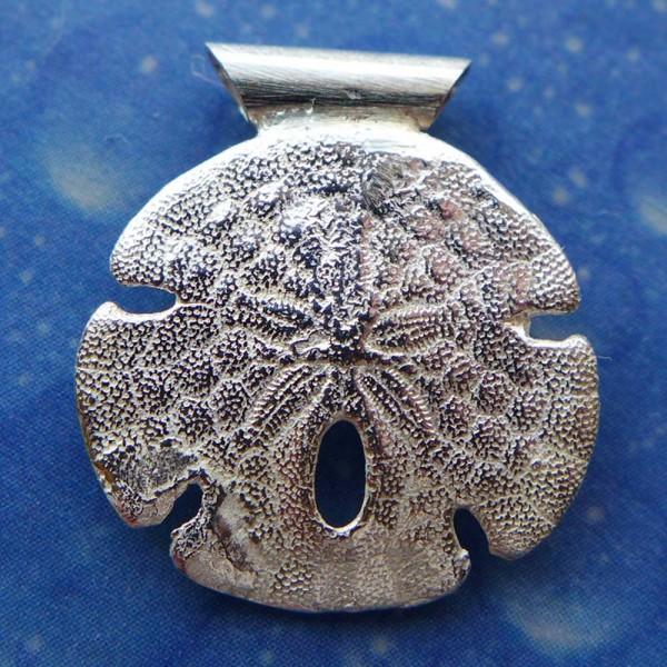Silber Seeigel Sanddollar Kette