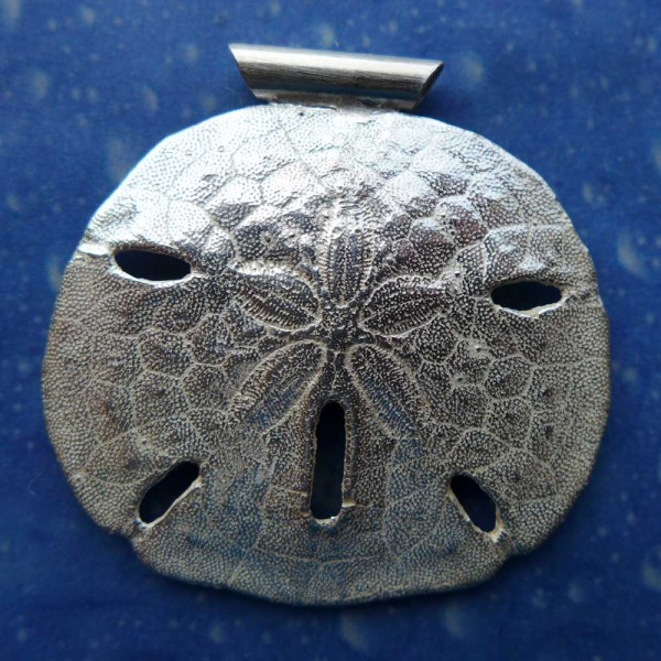Sanddollar Silber Anhänger Schmuck