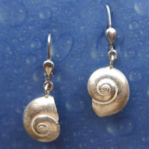 Ohrring Schnecke Silber Schmuck