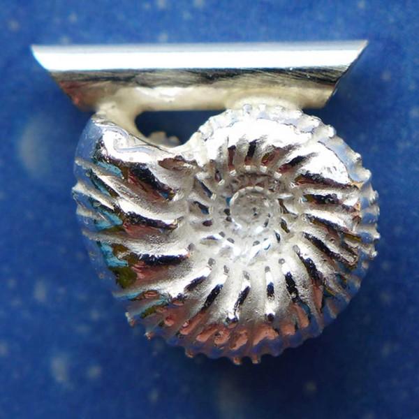 Fossiler Schmuck Ammonit Anhänger