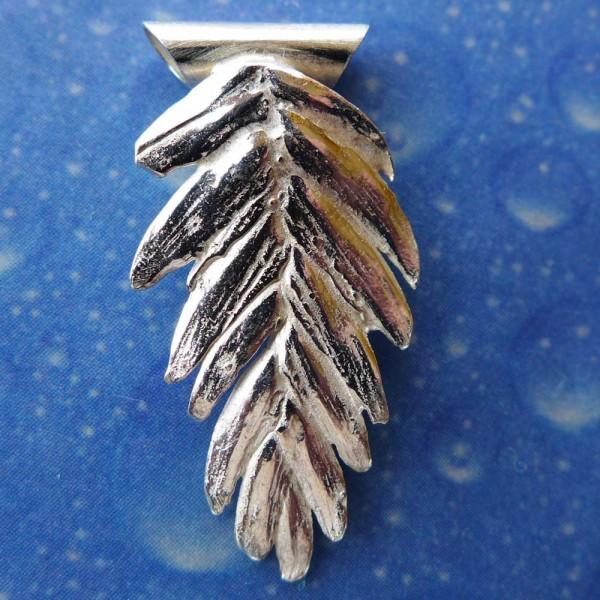 Dünengras Schmuck Anhänger Silber