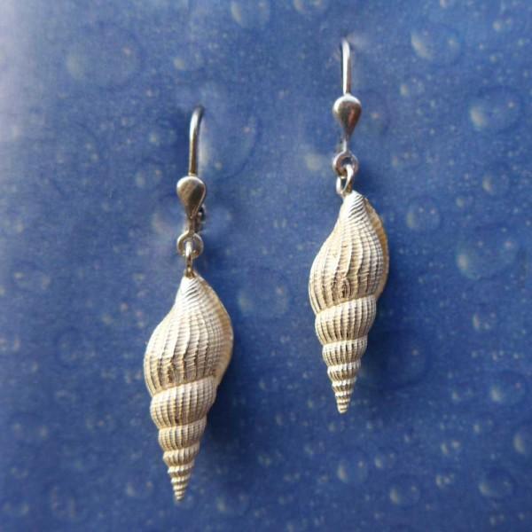 Ohrring Schnecke Schmuck Silber