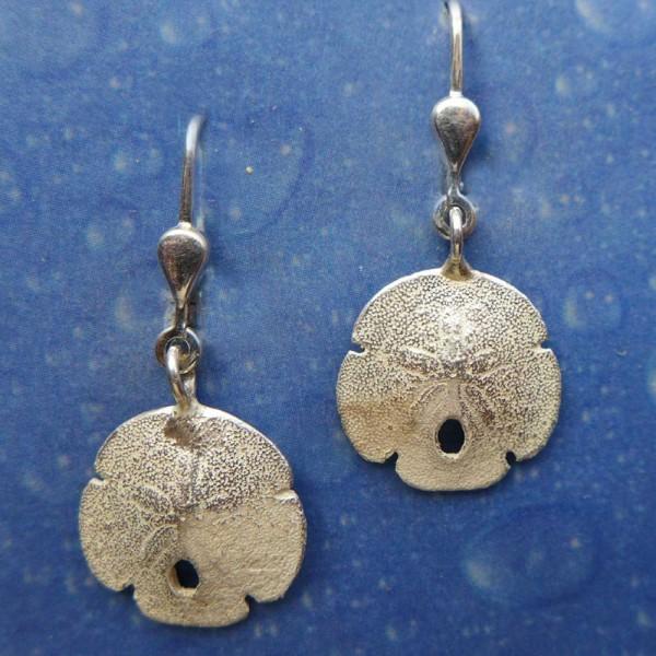 Ohrringe Silber Sanddollar xs