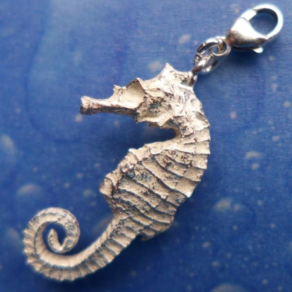 Seepferdchen Silber Charms Anhänger