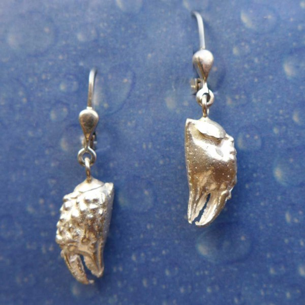 Sternzeichen Krebs Ohrringe Silber