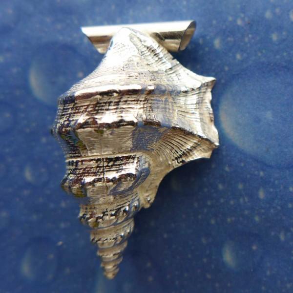 Meer Schmuck Silber Anhänger Pelikanfuß